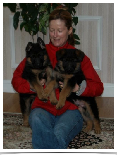 Enjoy & Andrjuscha pups 7 wks old
